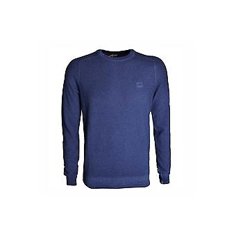 Hugo Boss Casual Hugo Boss Knitted Navy Sweatshirt