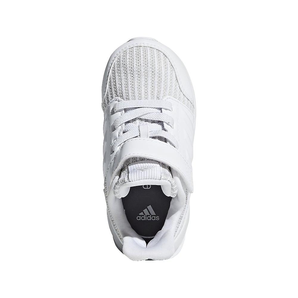 Adidas Junior Rapidarun Knit Shoes White