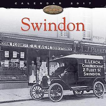 Swindon Wall Calendar 2017 Art Cal