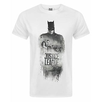 Justice League Character Line Up Men's T-Shirt