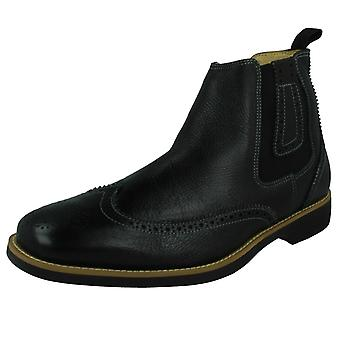 Mens Anatomic Slip On Ankle Boots Gustavo