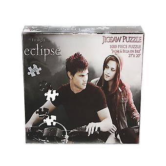 Twilight Saga Eclipse Quebra-cabeça (Jacob & Bella On Bike)