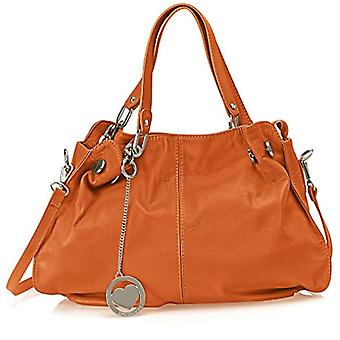 Ccacca Bags Cbc3305tar Brown Women's Shoulder Bag (Leather) 12x30x38 cm (W x H x L)