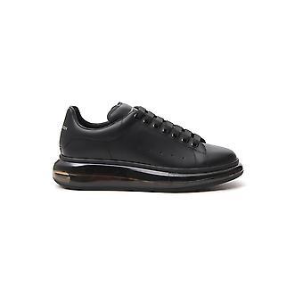 Alexander Mcqueen 604232whx981000 Men's Black Leather Sneakers