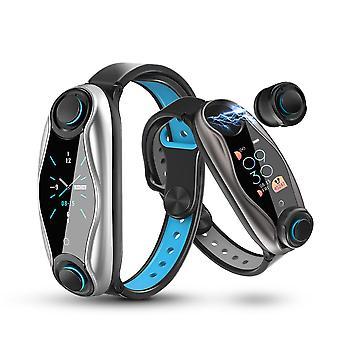 Combiné de bracelet de sport d'écouteur bluetooth sans fil