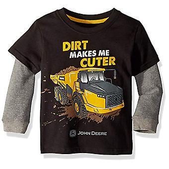 John Deere Boys' Little 2 for TEE Thermal Sleeve, black, 4