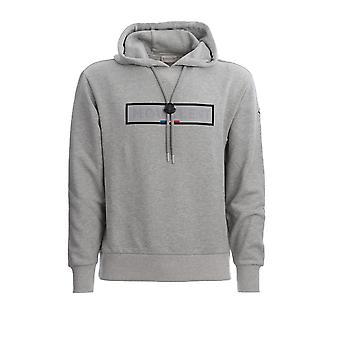 Moncler 8g714208098u910 Men's Grey Cotton Sweatshirt