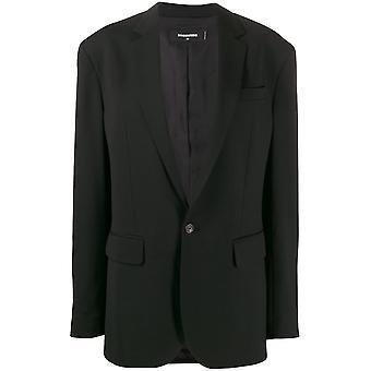 Dsquared2 S72bn0561s36258900 Women's Black Wool Blazer