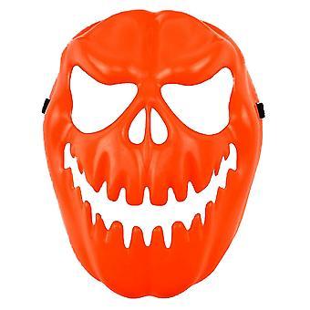Scream Machine Unisex Adults Evil Pumpkin Halloween Mask