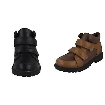 JCDees Boys Double Strap Ankle Boots
