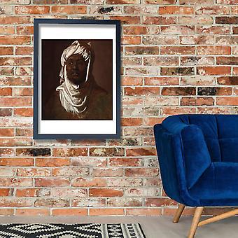 Rubens - Kopf von einem afrikanischen Mann Poster Print Giclee
