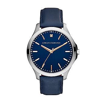 Armani Exchange Analog quartz men's watch with leather AX2406