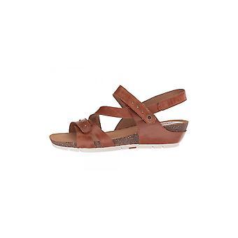 Josef Seibel Womens Hailey33 läder öppen tå Casual plattform sandaler