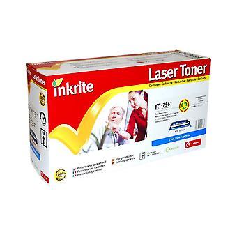 Inkrite Laser Toner Cartridge compatible with HP Color Laserjet 2700/3000 Cyan