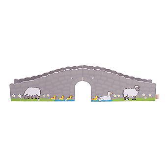 Most železniční farmy Bigjigs