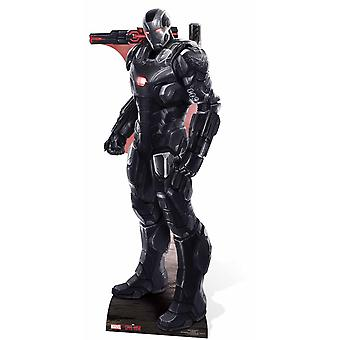 War Machine Marvel Lifesize karton gestanst / Standee / opstaan