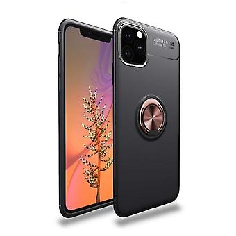 iPhone 11 shock-resistant shell with ring holder and magnet