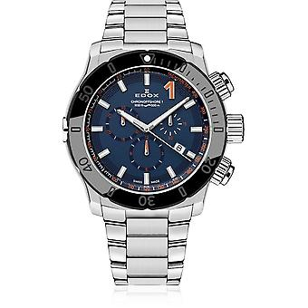 Edox - Wristwatch - Men - CO-1 - Chronograph - 10221 3NM BUINO