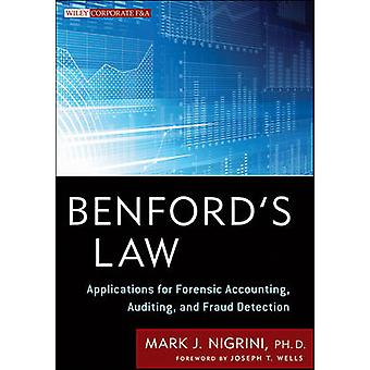 Benford's Law - Applications for Forensic Accounting - Auditing - and