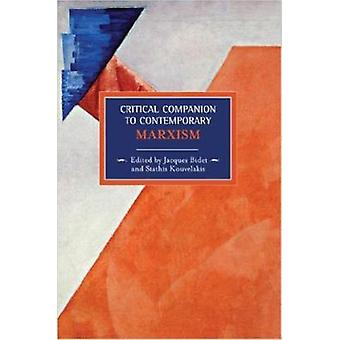 Critical Companion to Contemporary Marxism by Jaques Bidet - 97816084