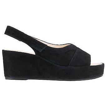 Hogl pappilon schwarz sandalen dames zwart