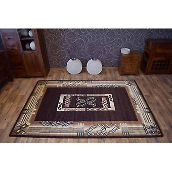 Rug heat-set PRIMO 5123 brown