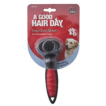 Interpet Limited Mikki Easy Clean Slicker Dog Grooming Brush