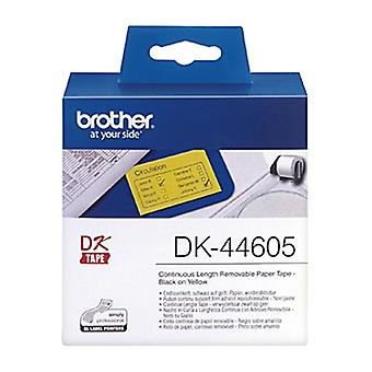 Brother Dk44605 Gul Roll