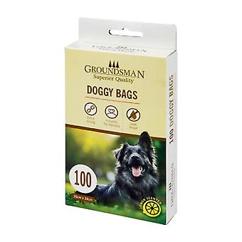 Groundsman Doggy Plastic Bags (Pack Of 100)