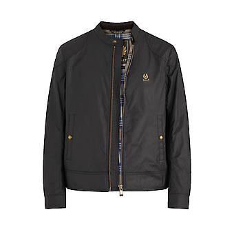 Belstaff Kelland Waxed Jacket Black