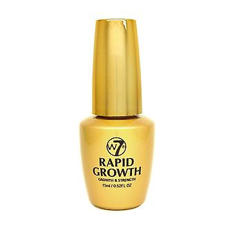 W7 Cosmetics Rapid Growth for Nails 15ml Grows, Strengthens, Protects