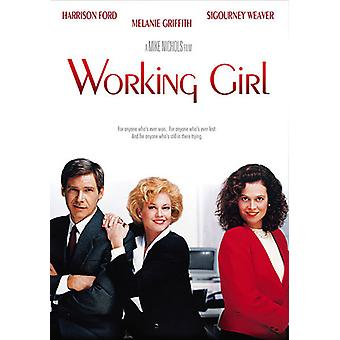 Working Girl [DVD] USA tuonti