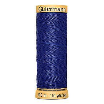 Gutermann 100% Natural Cotton Thread 100m Hand and Machine Colour Code  - 4932