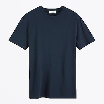 Scotch & Soda  - Cotton T-shirt - Navy