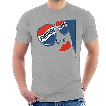 Pepsi cool aurinko lasit Miesten T-paita