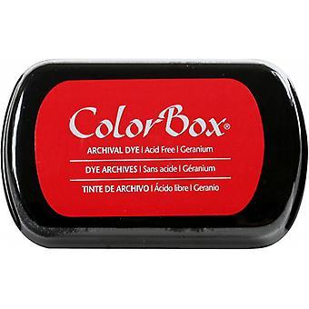 Clearsnap ColorBox ا أرشيفية صبغ الحبر كامل الحجم Geranium