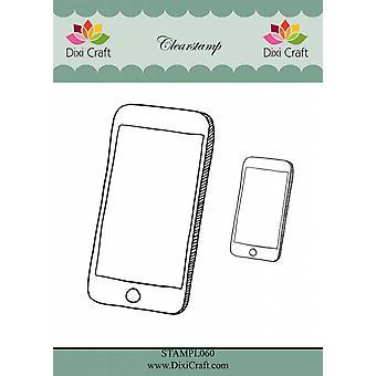 Dixi Craft Smartphone tydliga frimärken