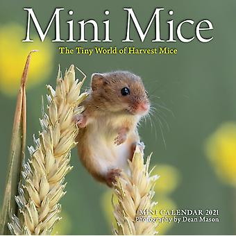 2021 Mini Mice Mini Wall Calendar by Workman PublishingMason & Dean