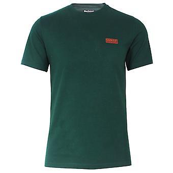 Barbour international men's seaweed green small logo t-shirt