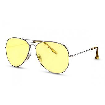نظارات شمسية المرأة الطيار Cat.2 الفضة / الصفراء (CWI2129)