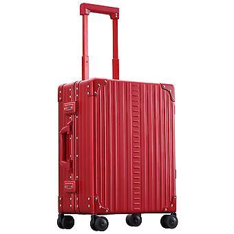 """ALEON Domestic Hand Luggage Trolley 21"""" 4 Ruedas, 40 cm, 36.2 L, Rojo"""