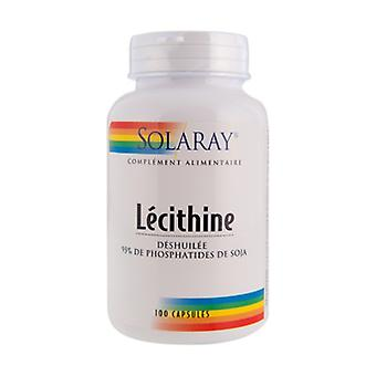 Deoiled Lecithin 100 capsules