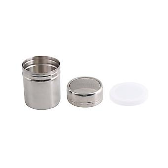 8cm Height  Stainless Steel Powder Dredger for Cocoa S Size