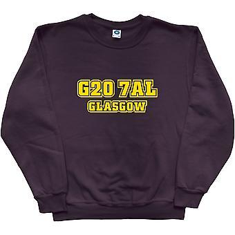 Partick Thistle Postcode Black Sweatshirt