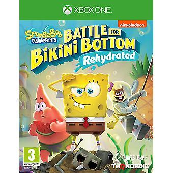 Spongebob SquarePants Battle for Bikini Bottom Rehydrated Xbox One Game