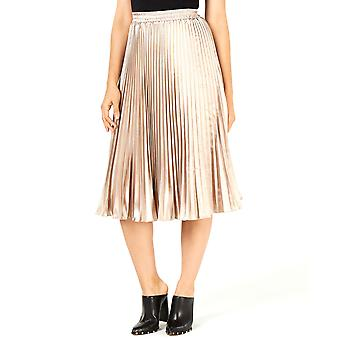 Lucy Paris | Noelle Pleated MIDI Skirt