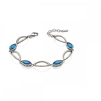 Fiorelli Silver Linked Marquise Bracelet B4964T