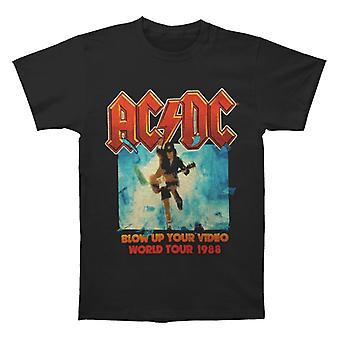 ACDC Blow Up Your Video Black T shirt