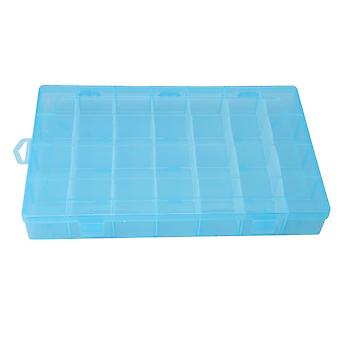 34x21.5x4.7cm Square Plastic Opbevaring Box Craft Organizer Sag for DIY