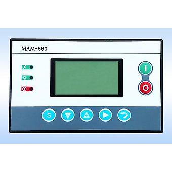 Air Compressor Parts Mam 860 Plc Controller Panel With Wiring Diagram